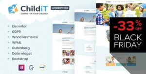 Childit – Kindergarten Elementor WordPress Theme