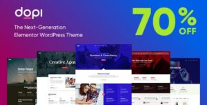 Dopi – Elementor MultiPurpose WordPress Theme