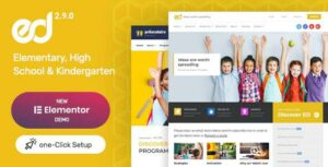 Read more about the article Ed School – Education Elementor WordPress Theme