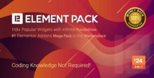 Read more about the article Element Pack – Addon for Elementor Page Builder WordPress Plugin