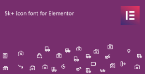 Icon Element – Elementor Page Builder Icon Pack