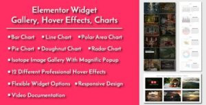 Elementor Widgets – Gallery, Hover Effects, Charts