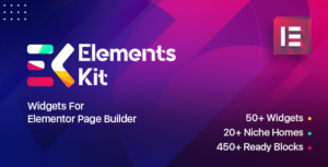 Elements Kit Widgets – Addon for elementor page builder
