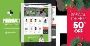 Pharmacy – WooCommerce Elementor WordPress Responsive Theme