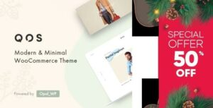 QOS – Fashion WooCommerce Elementor WordPress Theme