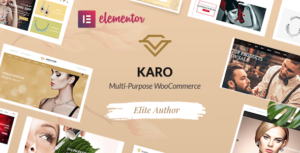 Karo – MultiPurpose WooCommerce Elementor WordPress Theme