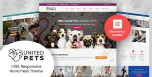 United Pets – Veterinary Elementor WordPress Theme