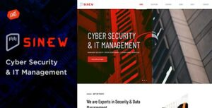 Sinew – Cyber Security & IT Management Theme