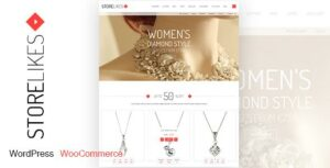 Storelikes – Fashion RTL Responsive WooCommerce WordPress Theme
