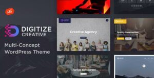 Digitize – Creative Multi-Concept Elementor WordPress Theme