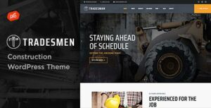 Tradesmen – Construction WordPress Theme