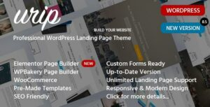 Urip – Marketing Landing Page