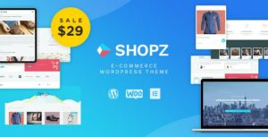 Shopz – eCommerce WordPress Theme