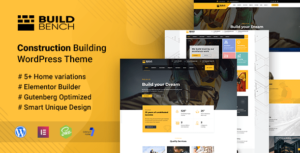 Buildbench – Building and Construction WordPress Theme