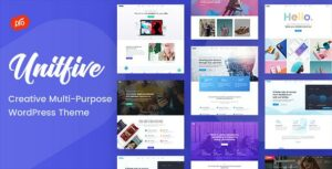 Unit Five – Creative Multi-Purpose Theme + RTL