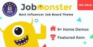 Read more about the article Jobmonster – Job Board WordPress Theme