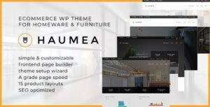 Haumea – E-commerce WP Theme for Homeware and Furniture