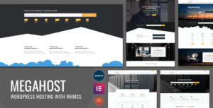 Hosting WordPress theme with WHMCS – MegaHost