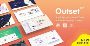 The Outset – MultiPurpose WordPress Theme for Saas & Startup
