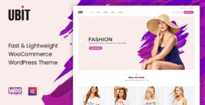 Ubit – Fashion Store WooCommerce Theme