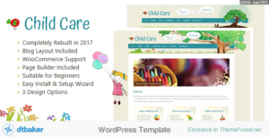 Child Care Creative – WordPress Shop Theme