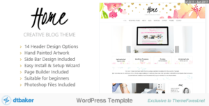 Home Blogger – Creative Shop Theme