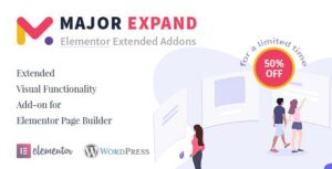 Read more about the article Major Expand: Extended Visual Functionality Add-on for Elementor Page Builder