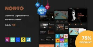 Norto – Creative Portfolio WordPress Elementor Theme