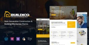 Buildico – Construction WordPress Theme