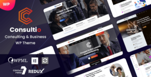 Consultio – Consulting & Business WordPress