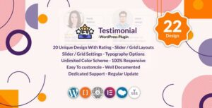 Testimonials Slider / Grid – WordPress Testimonials Plugin
