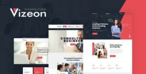 Vizeon – Business Consulting WordPress Themes