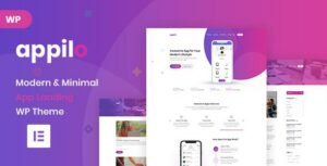 Appilo – App Landing Page