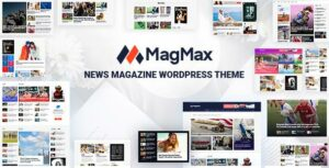 MagMax – News Magazine WordPress Theme