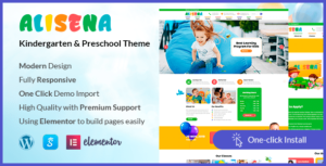 Alisena – Kindergarten & Preschool WordPress Theme
