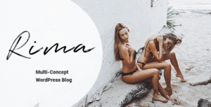 Rima – Personal Blog WordPress Theme