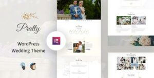 Pratty – Wedding WordPress Theme