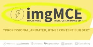 imgMCE – Professional, Animated Image Editor & HTML5 content builder