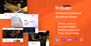 Induxo – Factory & Industrial WordPress Theme