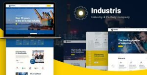 Industris – Factory & Business WordPress Theme