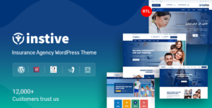 Instive – Insurance WordPress Theme