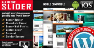 All In One Slider Responsive WordPress Slider Plugin