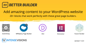 Better Builder – Addon for WordPress Page Builders