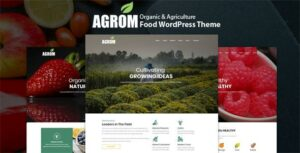 Agrom – Organic & Agriculture Food WordPress Theme