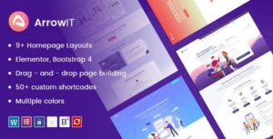 Read more about the article ArrowIT – Technology, Digital Transformation WordPress Theme