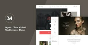 Mgana – Clean, Minimal WooCommerce Theme