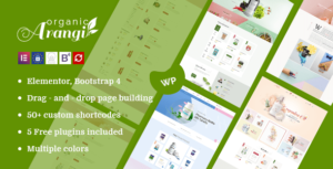 Arangi – Organic WooCommerce Elementor WordPress Theme