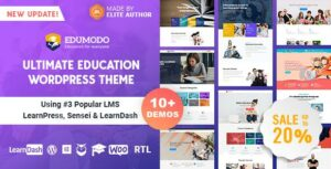 Edumodo – Education WordPress Elementor Theme