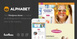 Alphabet – Kids, Children WordPress Theme