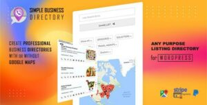Simple Business Directory with Maps, Store Locator, Distance Search